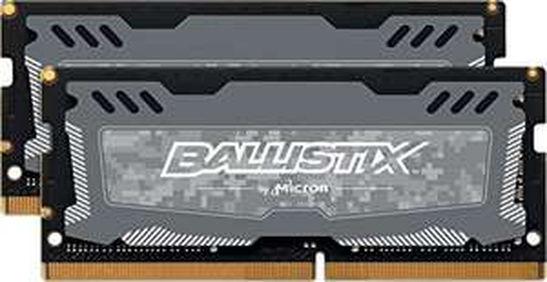 Kit Mémoire Ballistix Sport LT 32 Go (2x16 Go) - SODIMM, DDR4, 2666Mhz, CL16