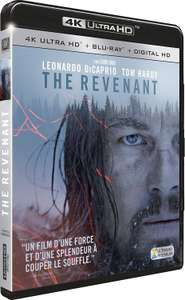Sélection de Blu-ray 4K UHD en promotion - Ex : The Revenant (+ version numérique)