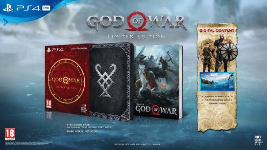 Jeu God Of War - Edition Limitée sur PS4