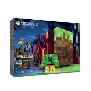 Console Microsoft Xbox One S Edition Limitée Minecraft - 1 To