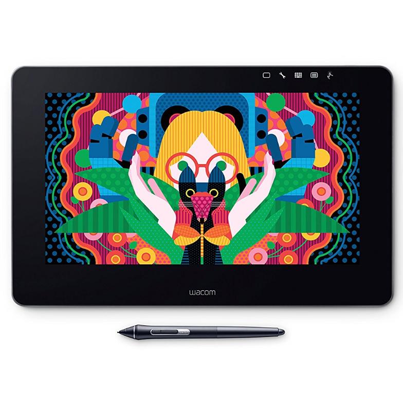 """Tablette graphique 13"""" Wacom Cintiq Pro à stylet pour le milieu professionnel - Compatible avec Mac et Windows"""