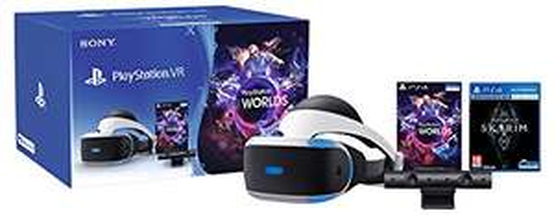 Pack casque de réalité Sony PlayStation VR (V2) + caméra (V2) + The Elder Scrolls V: Skyrim + VR Worlds