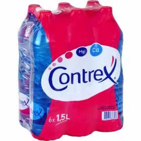 4 packs de 6 bouteille Contrex 1,5 litres