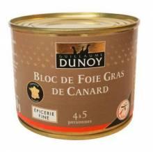 Bloc de foie gras de canard sans morceaux Guillaume Dunoy - 200 g