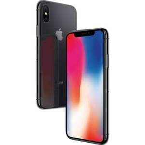 "Smartphone 5.8"" Apple iPhone X - A11, 3 Go de RAM, 64 Go, noir (+ 92.5€ en SuperPoints)"