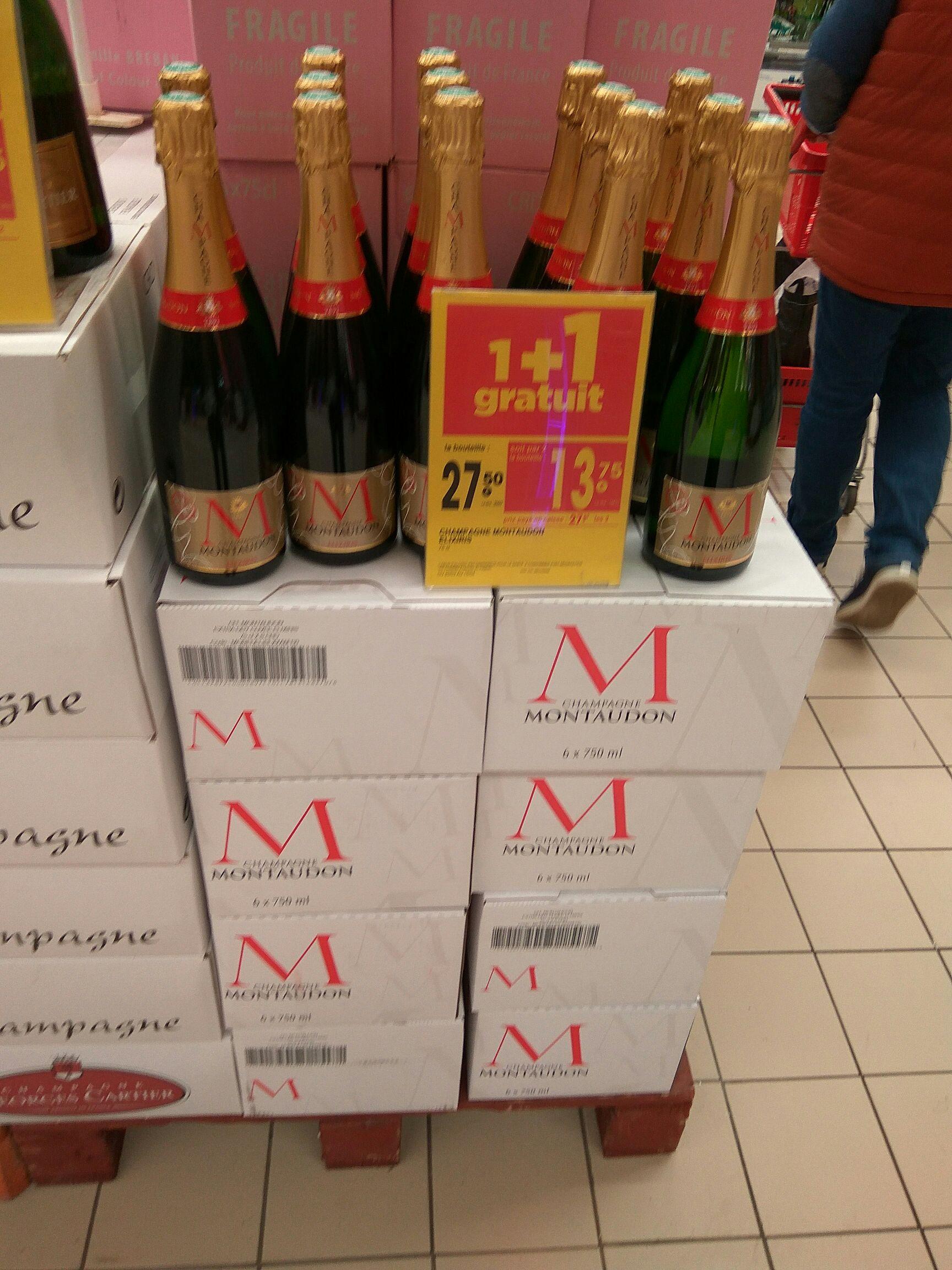2 bouteilles de Champagne Montaudon - Oceanis St Nazaire (44)