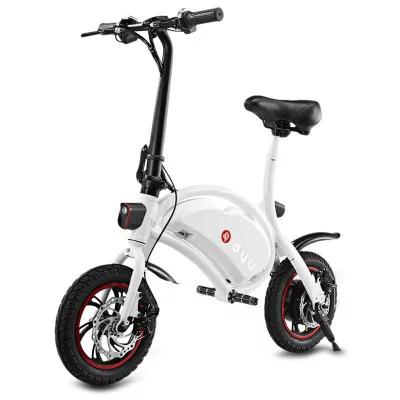"""Draisienne électrique 12"""" F-Wheel Dyu - blanc (entrepôt Europe - vendeur tiers)"""