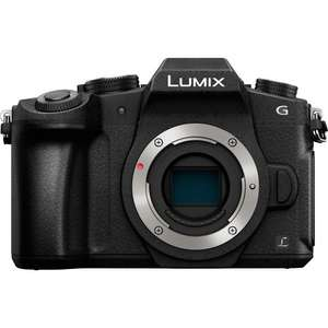 Appareil photo hybride Panasonic Lumix DMC-G80 - 16 Mpix, Live MOS, 4K UHD