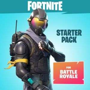 Extension Pack de démarrage Fortnite sur Xbox One, PC, PS4 (600 V-Bucks + 1 tenue)