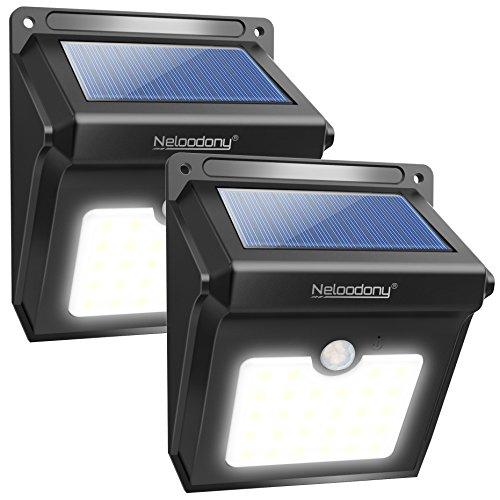 Lot de 2 Lampes solaires Neloodony  - 24 LED (vendeur tiers)