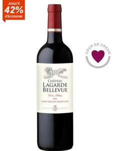 Vin rouge de Bordeaux - Château Lagarde Bellevue - Cuvée Pendary 2012 Saint-Emilion