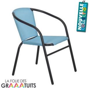 Lot de 2 chaises de jardin Albert