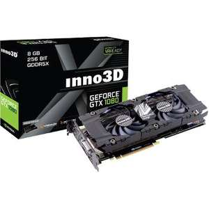 Carte graphique Inno3D GeForce GTX 1080 Twin X2 - 8 Go