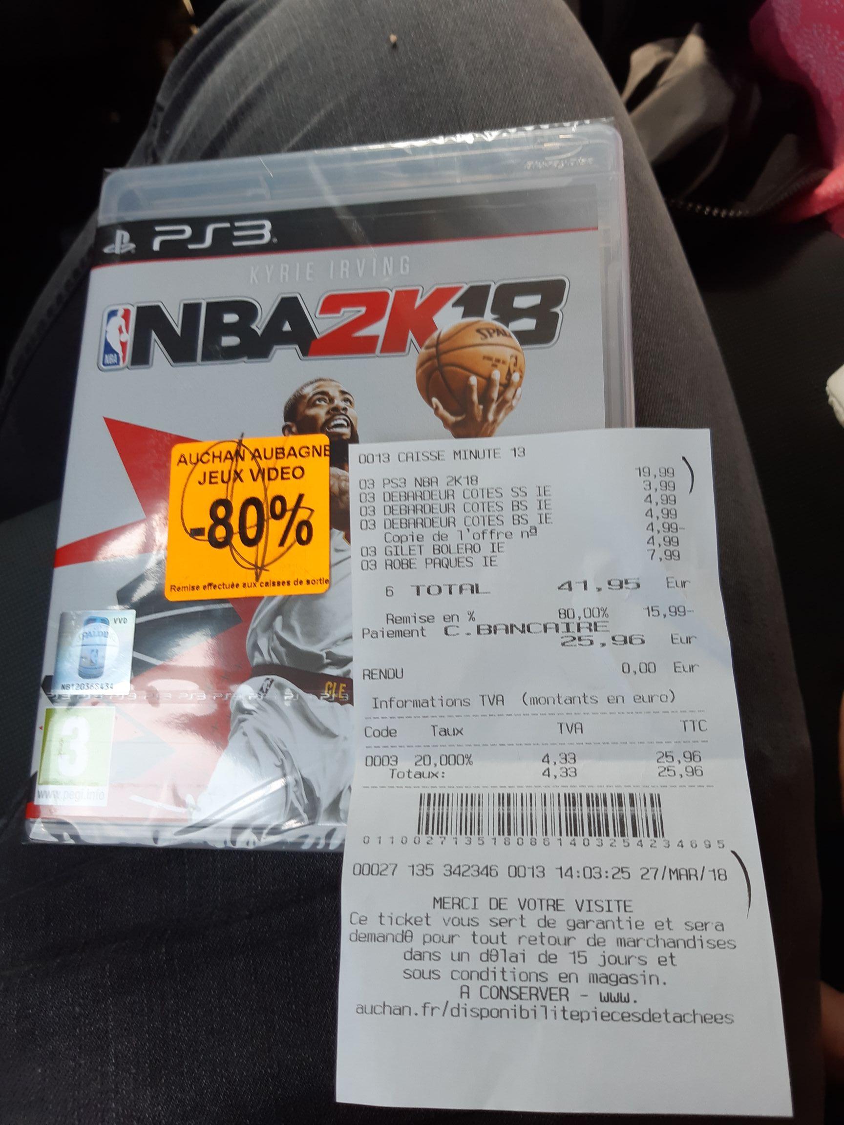 Jeu NBA 2K18 Sur PS3 - Aubagne (13)
