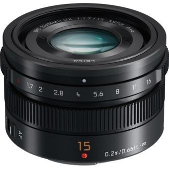 Objectif Panasonic Leica - 15mm f/1.7 (vendeur tiers)
