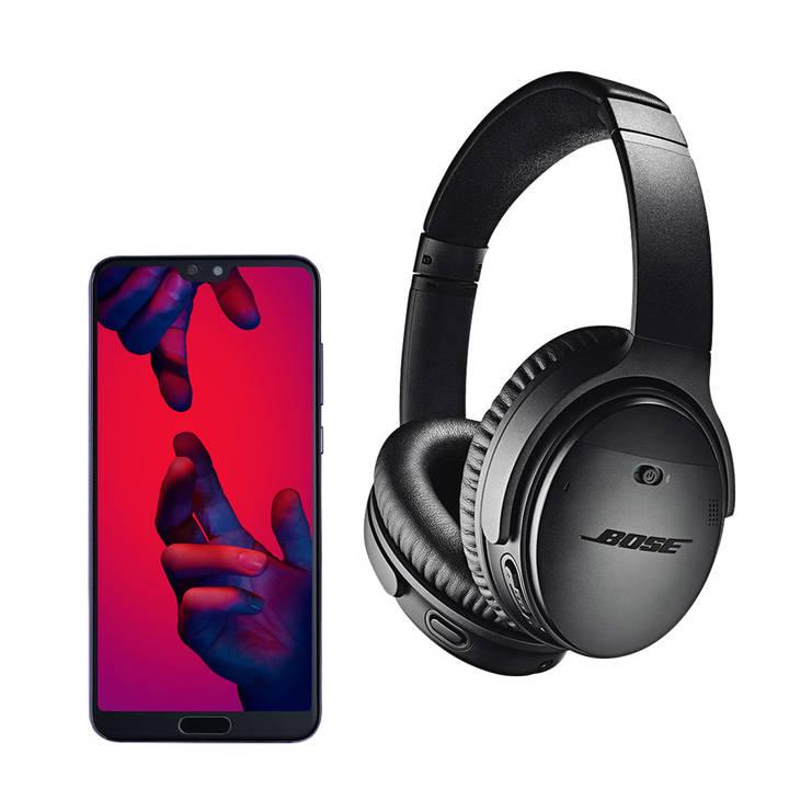 [Précommande] Huawei P20 Pro - Full HD OLED, Kirin 970, 6 Go RAM, 128 Go ROM + Casque Bose QuietComfort QC35 II - Noir (Frontaliers Suisse)