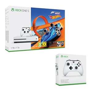 Console Microsoft Xbox One S - 1 To + Forza Horizon 3 + Hot Wheels DLC + 2ème manette