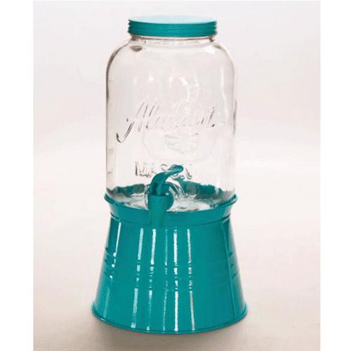 Distributeur de boisson en verre avec robinet (3,7 L)