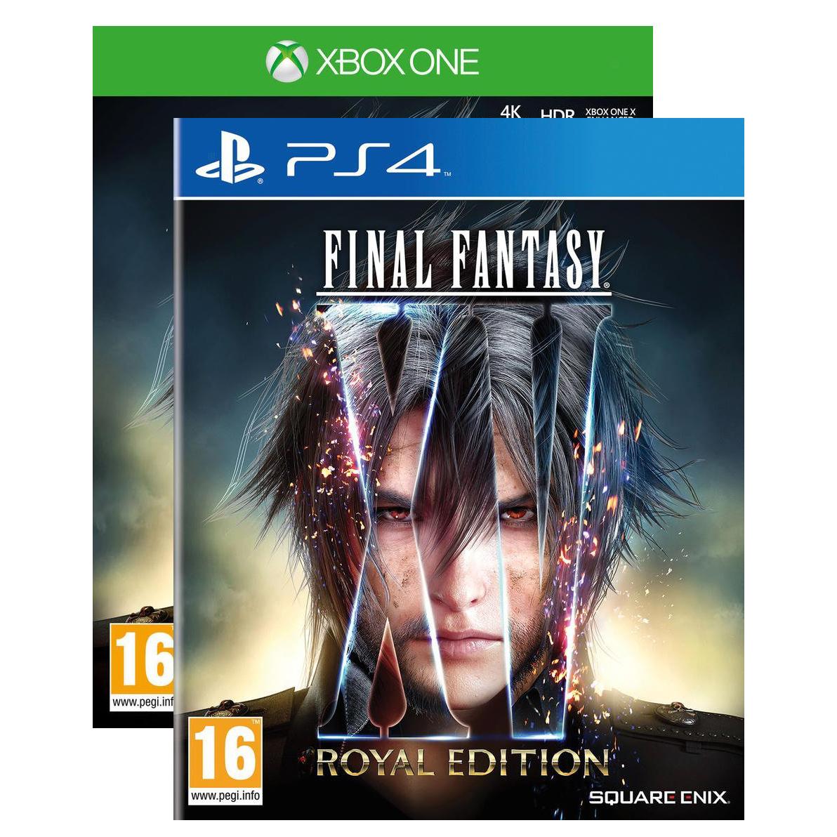 Sélection de jeux en promotion - Ex: Final Fantasy XV Royal Edition : Le Jeu + Season Pass sur PS4 ou Xbox One