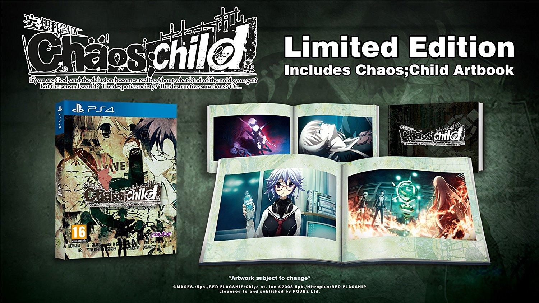 Jeu Chaos Child sur PS4 - Edition Limitée