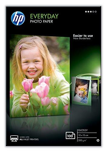 [Prime] 100 feuilles de Papier photo HP CR757A - 200g, 10 x 15 cm, Brillant