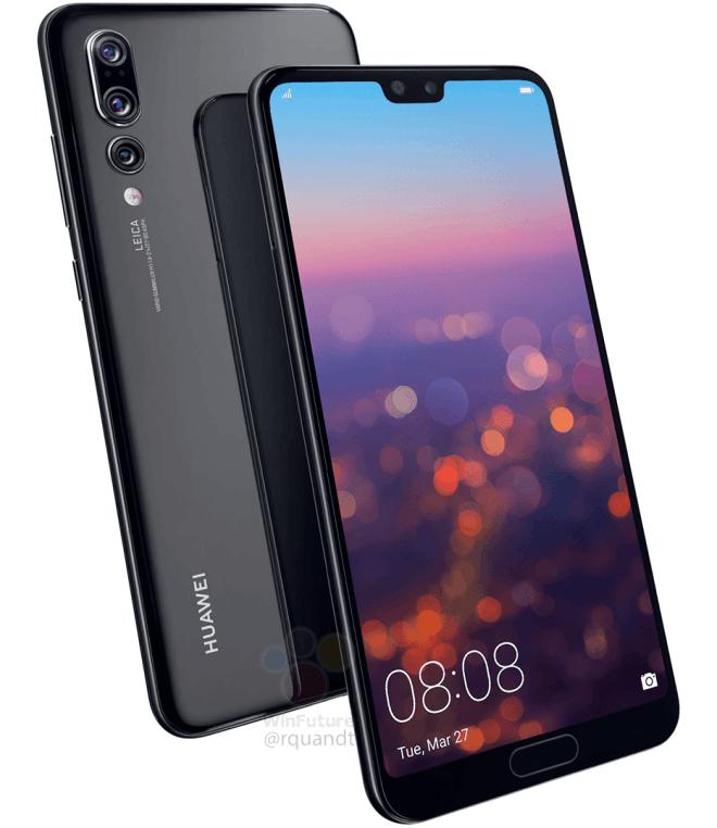 [Précommande] Smartphone Huawei P20 Pro - Full HD OLED, Kirin 970, 6 Go RAM, 128 Go ROM (Frontaliers Suisse)