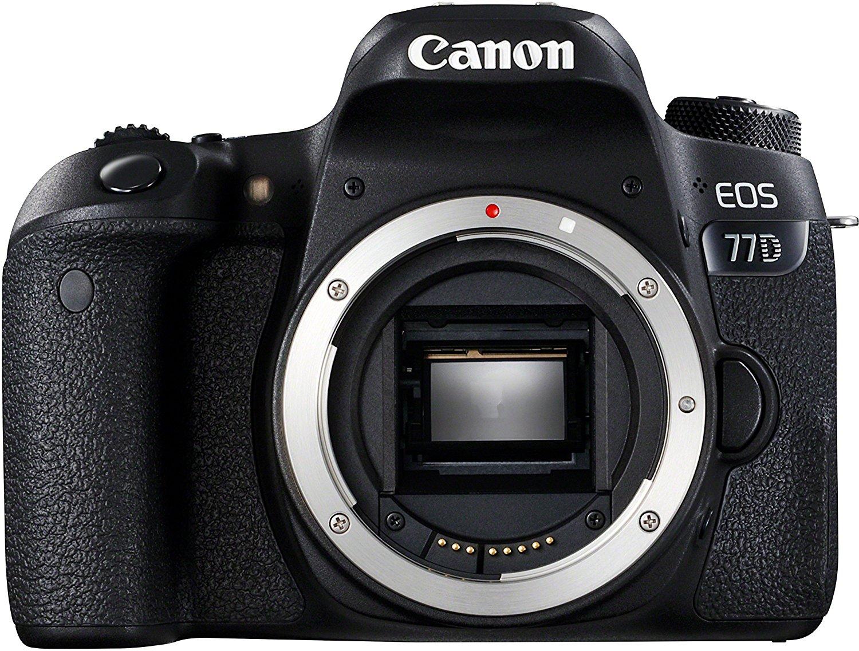 Appareil photo reflex Canon EOS 77D (+59.20€ crédités en SuperPoints)