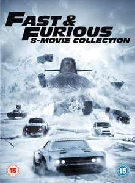 Coffret DVD Fast & Furious - L'Intégrale des 8 Films + Version numérique (en Anglais)