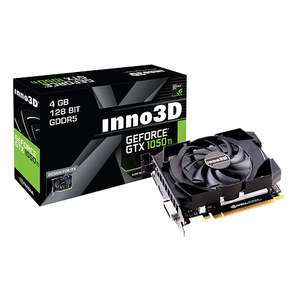 Carte graphique Inno3D GeForce GTX 1050 Ti Compact - 4 Go