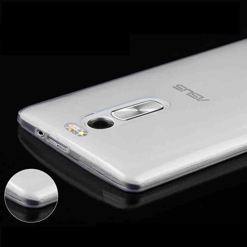 Coque silicone ultra mince pour smartphone Asus Zenfone 2