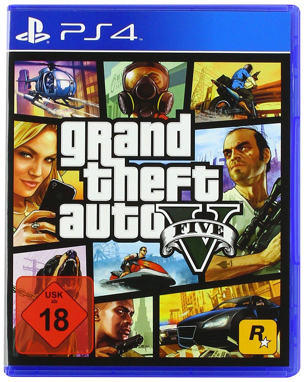 Grand Theft Auto (GTA) V sur PS4