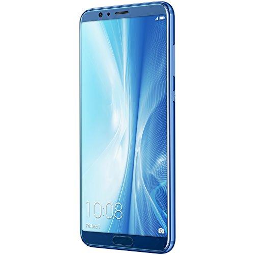 "Smartphone 5.99"" Honor View 10 (full HD+, Kirin 970, 6 Go de RAM, 128 Go, bleu) - reconditionné Très Bon"
