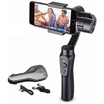 Stabilisateur Zhiyun Smooth-Q pour Smartphone - 3 Axes (Livraison Angleterre)