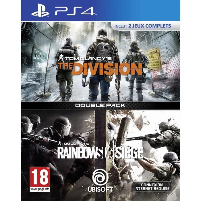 Rainbow Six Siege + The Division sur PS4
