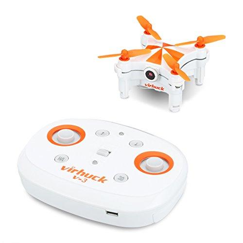 Quadcopter FPV Virhuck V-3 avec camera 0.3 MP - Wifi (Vendeur tiers)