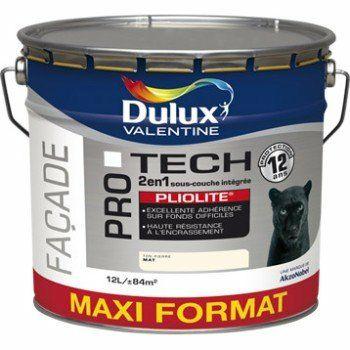 Peinture Façade Protech Pliolite DV - 12L, Blanc (via ODR de 8€)