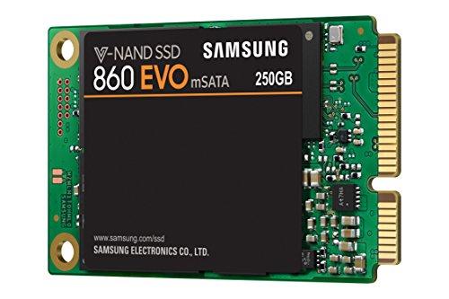 SSD Interne Samsung 860 EVO - 250 Go, SATA III mSATA, MZ-M6E250BW