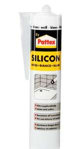 Joint silicone Pattex blanc ou transparent