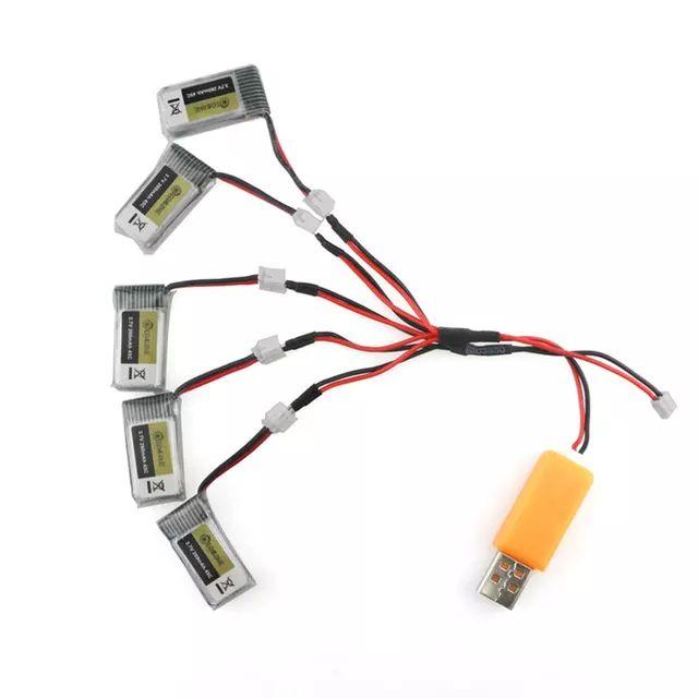 Lot de 5 batteries Eachine 260 MAH 45C