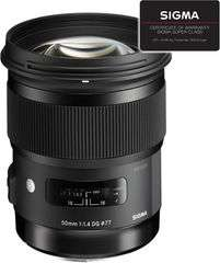 Objectif Sigma 50mm f/1.4 ART monture Canon & Nikon (Frontaliers Suisse)
