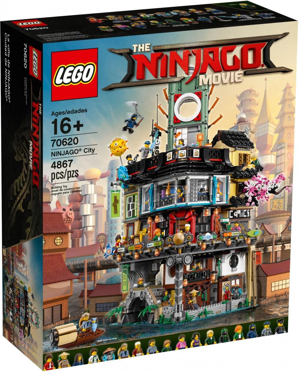 Lego Ninjago - La Ville Ninjago (70620)