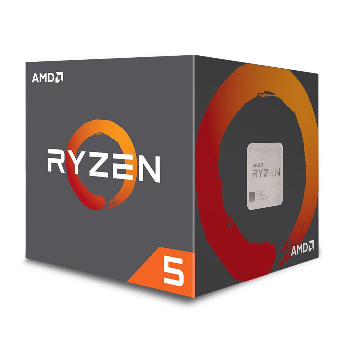 Processeur AMD Ryzen 5 1500X (3.5 GHz)