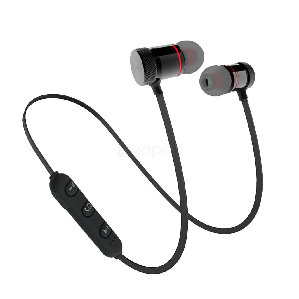 Écouteurs intra-auriculaires magnétiques GZ05 - Noir ou Or/Rouge