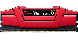 Kit de RAM G.SKill RipjawsV Ripjaws V DDR4-3000 CL15 - 16 Go (2x8), rouge
