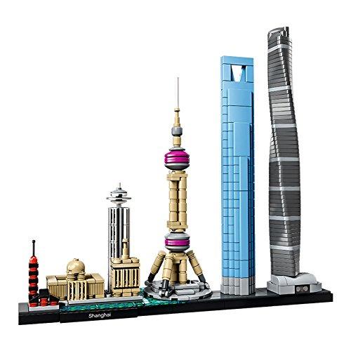 Jeu de construction Architecture Lego Shanghai n°21039