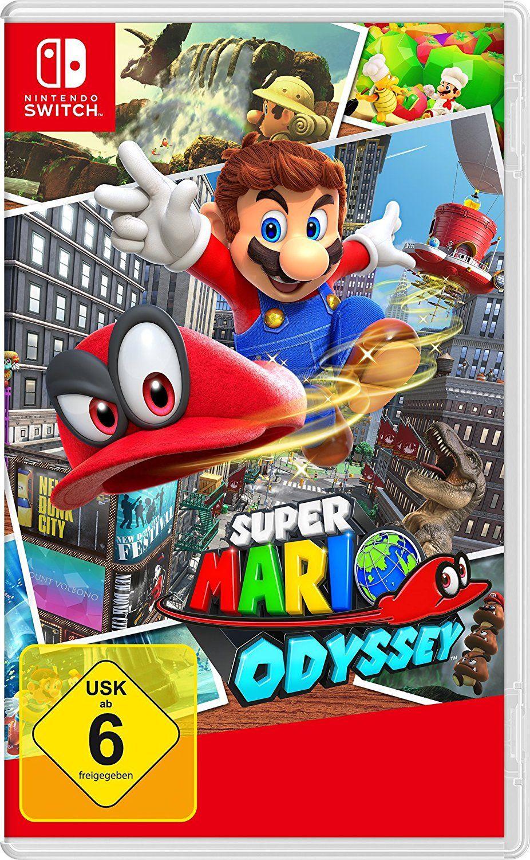 Sélection de packs Switch en promotion - Ex : Manette Nintendo power A + super mario odyssey sur Switch (Frontaliers Allemagne)