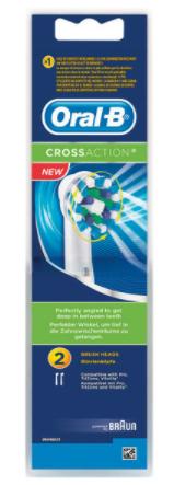 2 Lots de 2 Recharges pour brosse à dents électrique Oral-B - Différents Modèles (via 10.5€ fidélité)