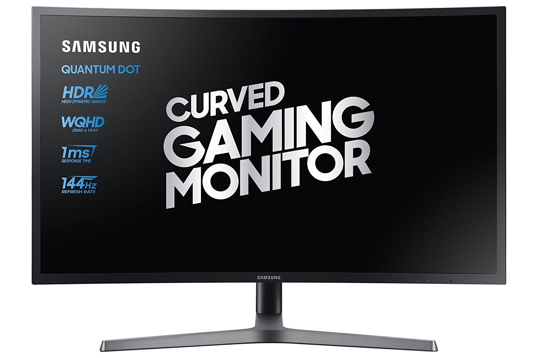 "Écran PC 32"" Samsung C32HG70 - WQHD, VA, 144Hz, 1ms, FreeSync 2, HDR, QDOT"