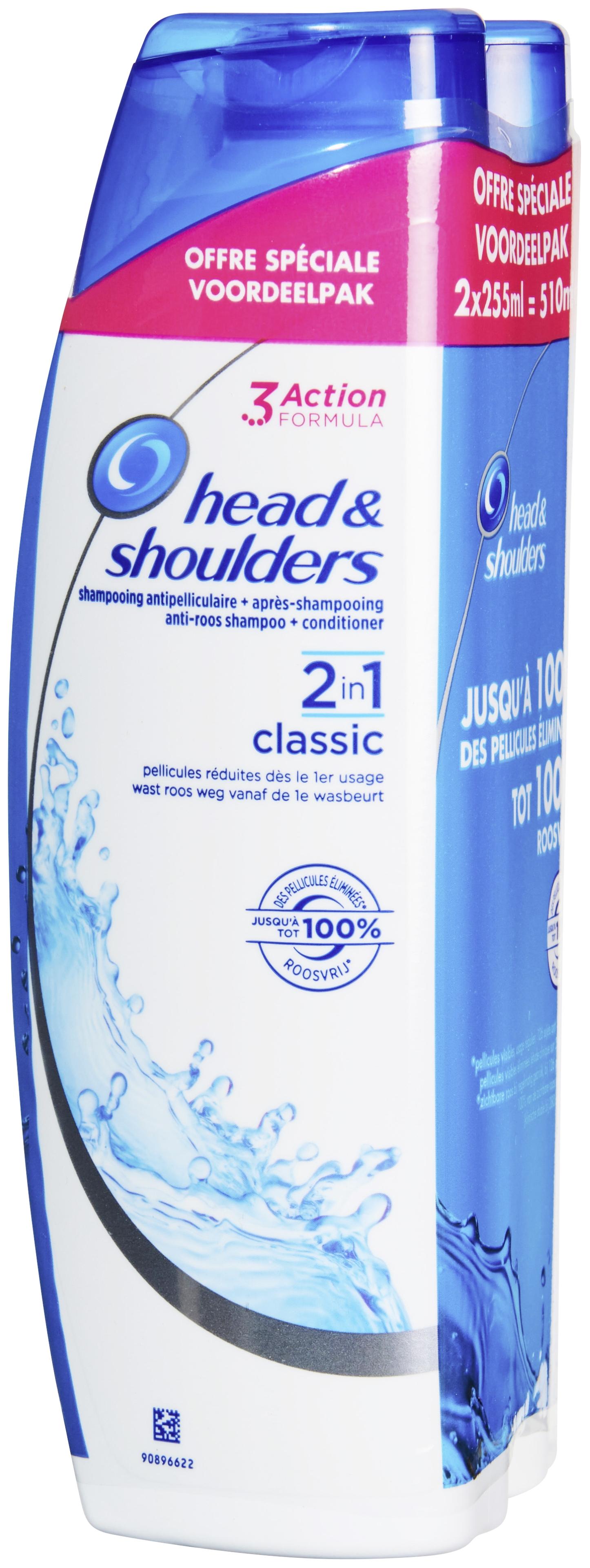 Sélection de Produits en Promotion - Ex : Lot Gratuit de 2 Bouteilles de Shampoing Head & Shoulders (Variétés au choix - 2 x 255ml - Via Carte de Fidélité + BDR)
