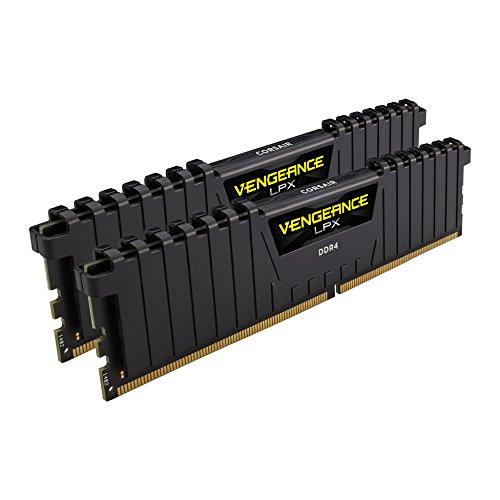 Kit mémoire DDR4 Corsair Vengeance LPX - 8 Go (2x4Go), 3000MHz, C15 XMP 2.0